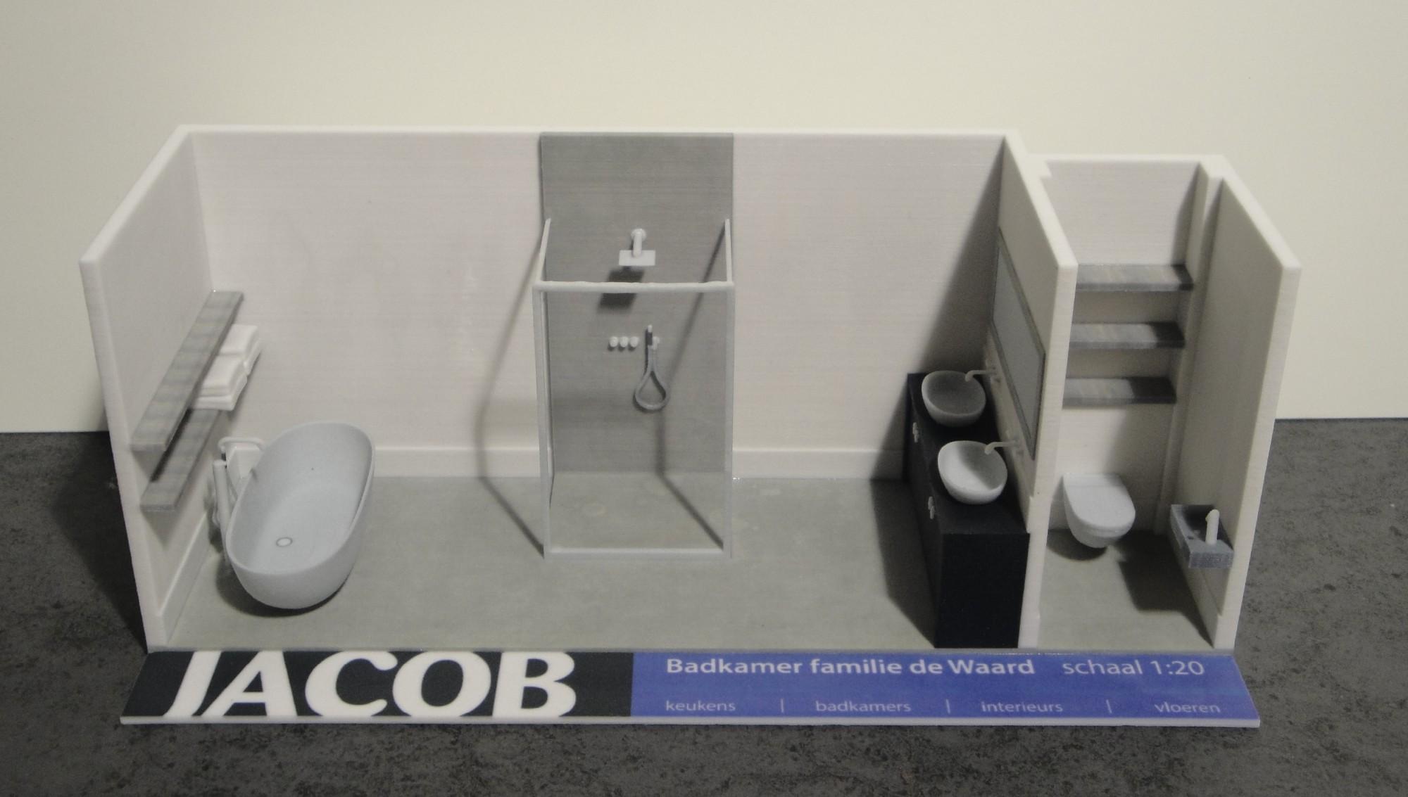 JACOB | JACOB heeft wereld primeur met 3d-print badkamer - JACOB
