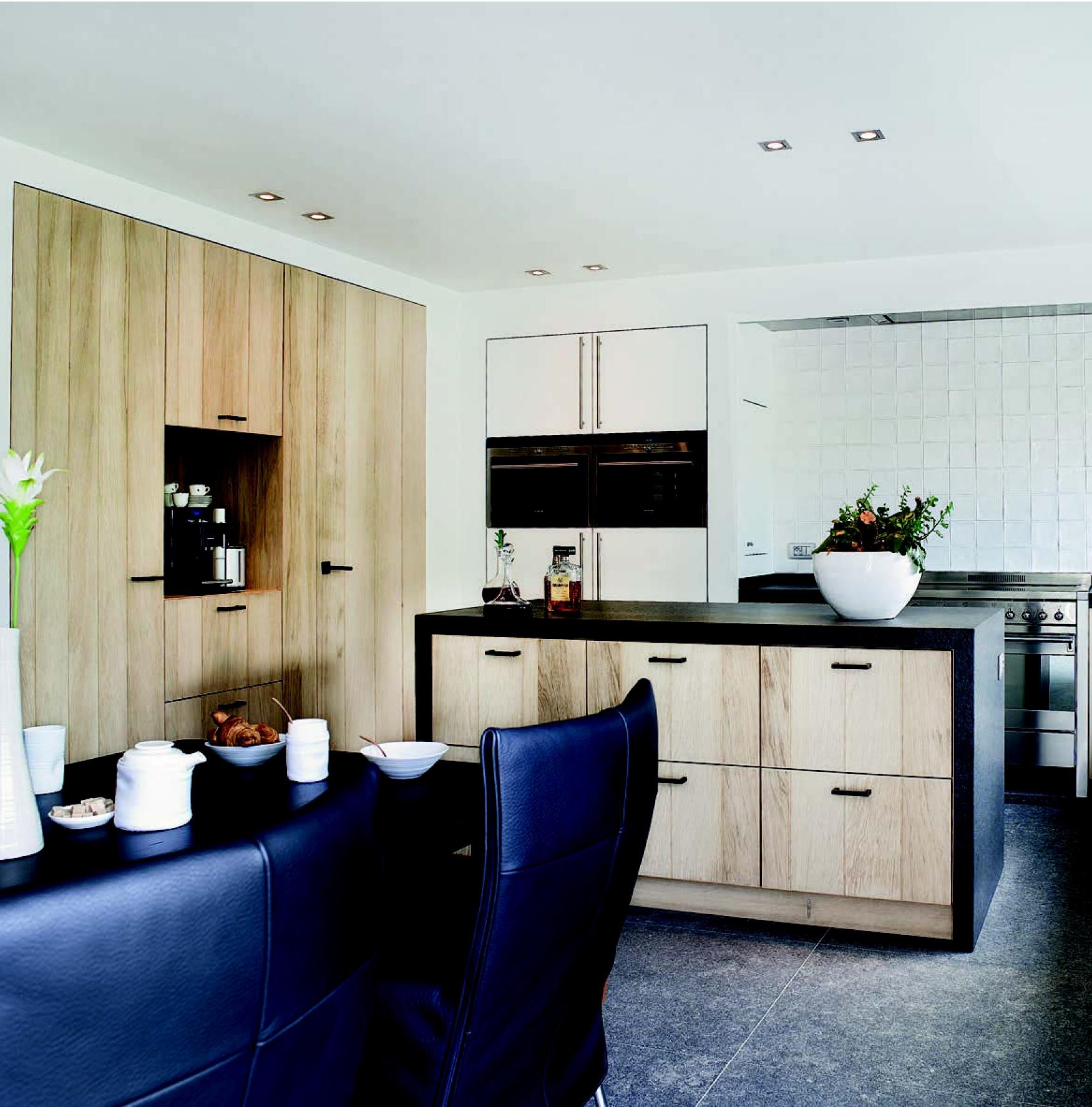 Maatwerk keuken massief eiken JACOB handgemaakte keukens en badkamers ...