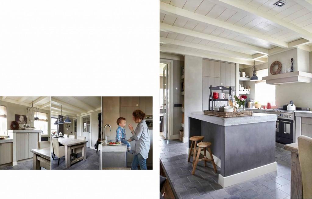 Landelijk keuken, met stoere elemente JACOB Apeldoorn